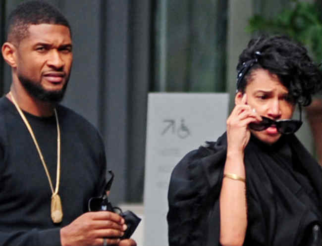 Usher and Grace reportedly engaged