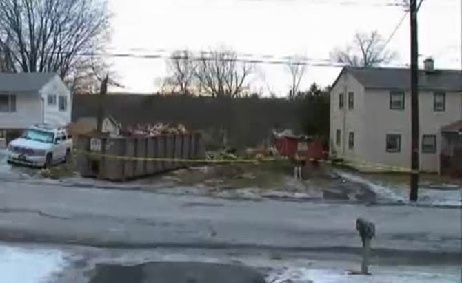 Wife Goes To Work Husband Bulldozes Home