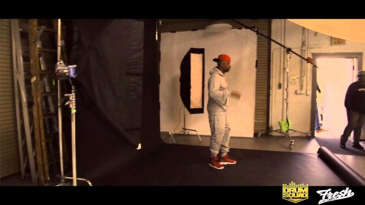 VIDEO: Drumma Boy 'Fresh Phamily' Photo Shoot (Behind the Scenes)