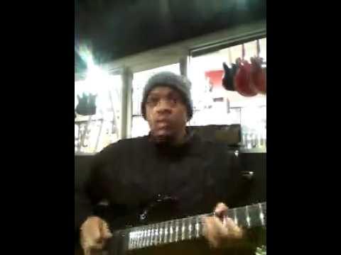 VIDEO: Gangsta Pat Shows His Skills on a 7 String Guitar