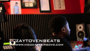 Zaytoven In The Studio w/ Young Dolph Making A Hip Hop Beat (Video)