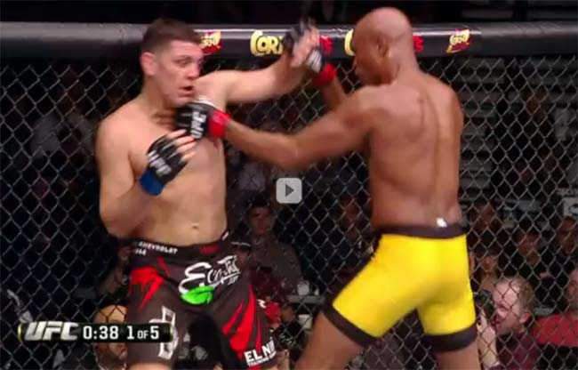 Anderson Silva vs Nick Diaz