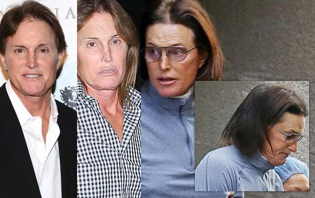Bruce Jenner appearance progress