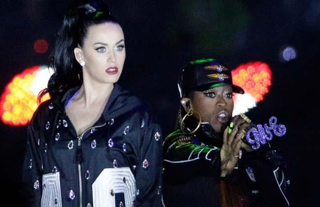 Katy Perry Missy Elliott Super Bowl 2015 Halftime