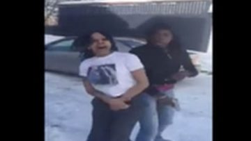 "These 2 Girls GO CRAZY Twerkin in the Snow and Wildin' Out To Yo Gotti's "" F–k You"" Song!"