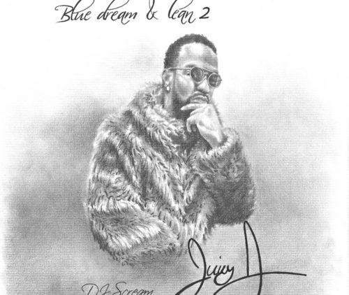 Juicy J Blue Dream & Lean 2 Mixtape cover