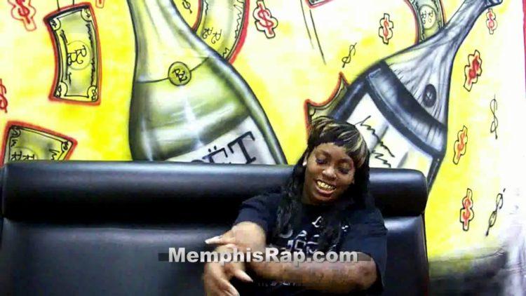 Rapper La Chat Talks 'Hood Homegirl'; Reveals Secret Tattoos To MemphisRapTV