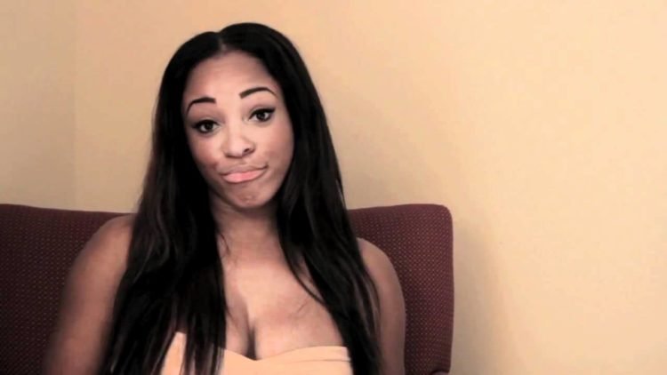"Sheneka Adams Video Interview: Talks About Modeling, Her ""Perfect Breasts,"" King Magazine + More"