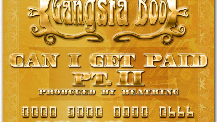 Gangsta Boo Can I Get Paid Part II single cover art