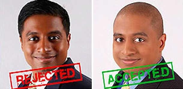 Indian Vijay Chokalingam pretends to be black