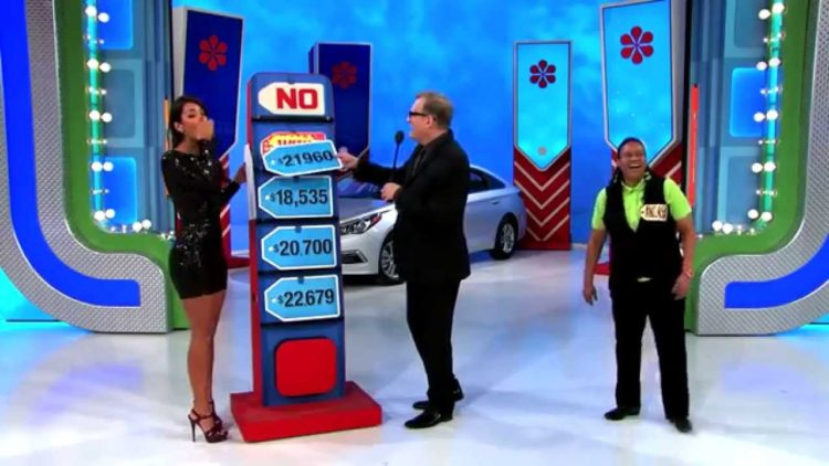 Price Is Right fail model gives away  car