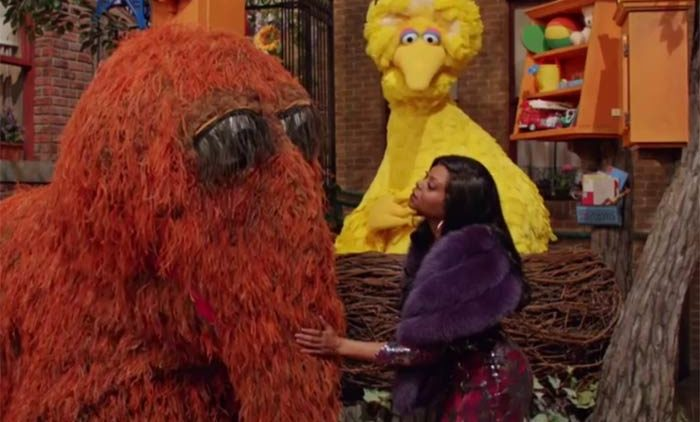 Taraji P Henson Sesame St SNL