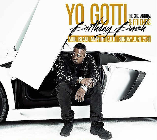 Yo Gotti and Friends 3rd Annual Birthday Bash 2015