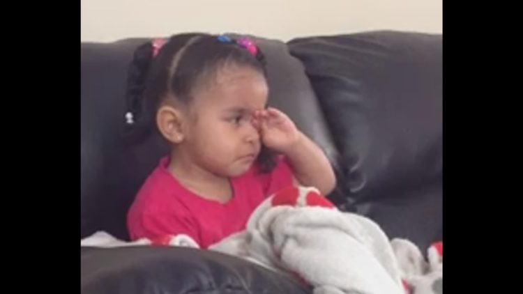 A Little Girl Gets Emotional and Teary Eyed During Lion King's Scene of Mufasa's Death