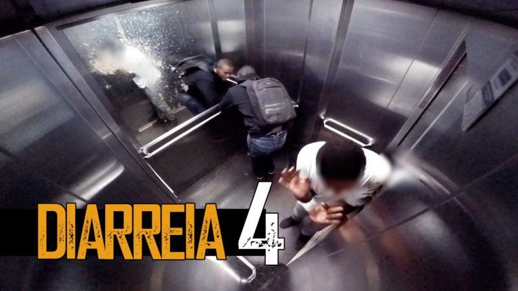 Explosive Diarrhea In Elevator Prank