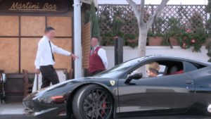 'Homeless Guy' Went Back To Restaurant Driving A Ferrari After They Refused To Serve Him