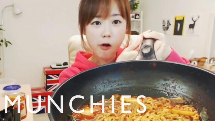 Mukbang: Koreans Watching BJ's and Strangers Binge-Eating Mass Amounts of Food