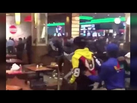 Video: Massive Casino Brawl at Resorts World in Queens, NY During Fat Tuesday Opening