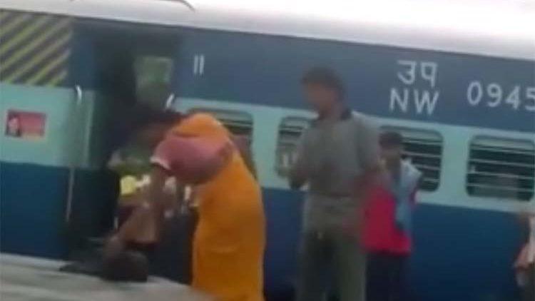 Indian woman UFC takes down man