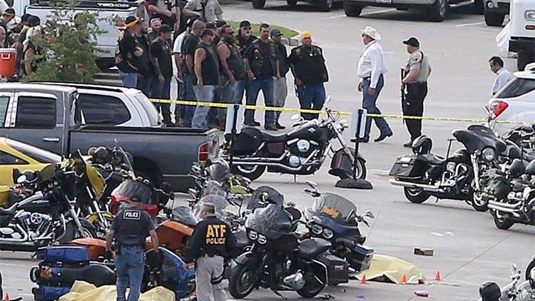 biker gang shootout waco