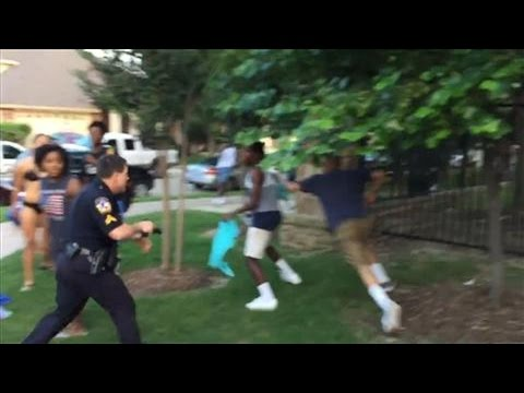 New Video Shows McKinney, Texas Police Officer Pulling Gun on Teens at Pool Party