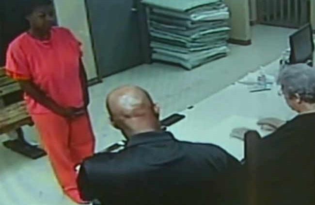 Sandra Bland jail video processing