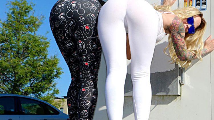 Yoga Pants Prank!