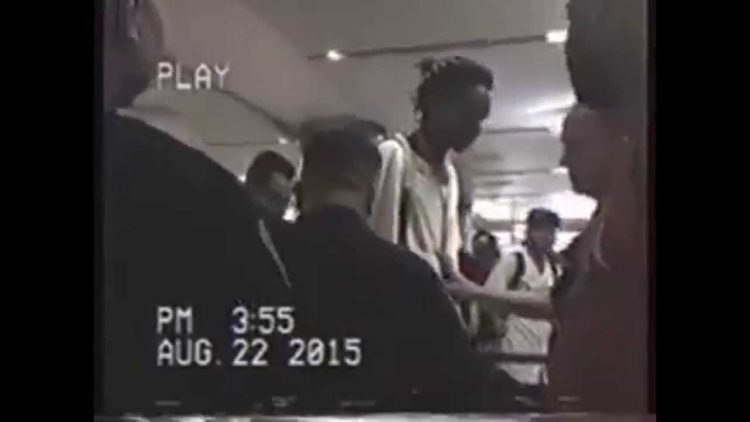 Caught on Video: Rapper Wiz Khalifa Violently Arrested By Police at LAX For Riding a Hoverboard?!