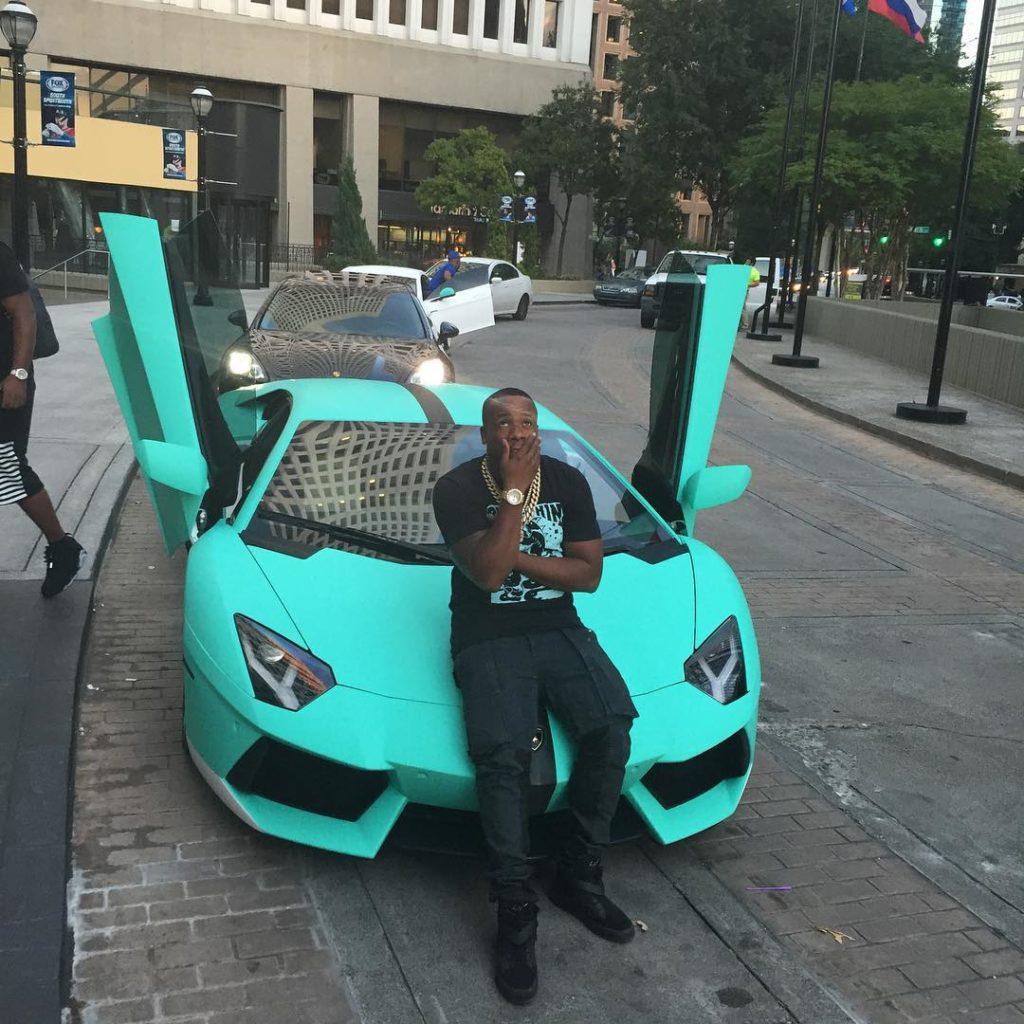 Yo Gotti Shows Off Sexy Quot Tiffany Quot Lamborghini Aventador Photos