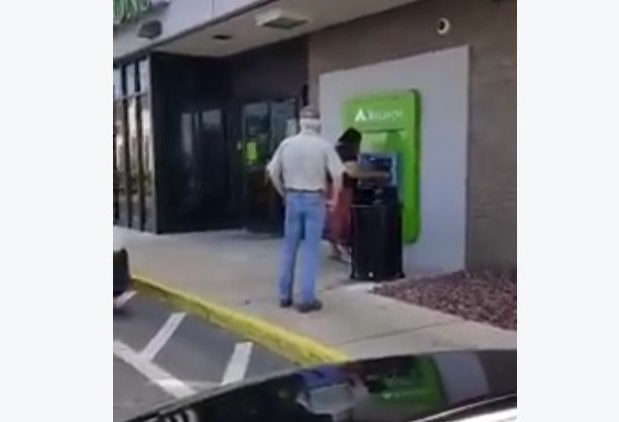 Mans Racist Tirade at Alabama ATM