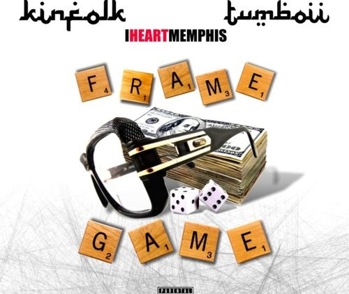 Memphis rapper Kia Shine Frame Game song cover art