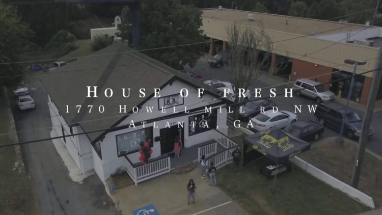 "Drumma Boy Launches ""House Of Fresh"" Streetwear Boutique Clothing Store in Atlanta"