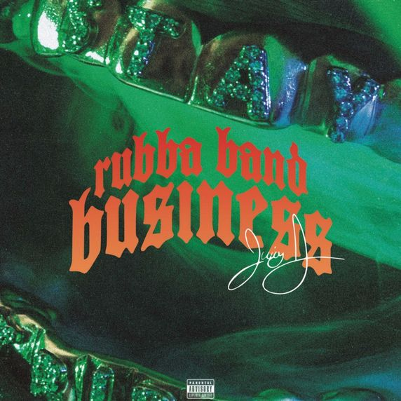 Juicy J Rubber Band Business cover
