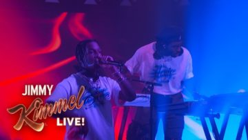 Blood Orange ft. ASAP Rocky and Project Pat – Chewing Gum (Jimmy Kimmel Live)