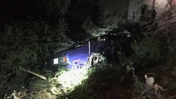 Kevin Hart 1970 Plymouth Barracuda car crash accident